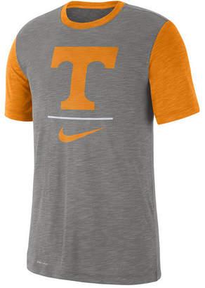 65ac2bf19e4 Nike Men Tennessee Volunteers Dri-fit Slub Raglan T-Shirt