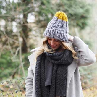 Lauren Aston Designs Knit Kit Colour Pop Knitted Hat f997b2a6717