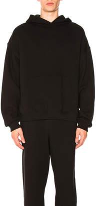 Alexander Wang Dense Fleece Hooded Pullover