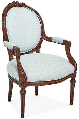 One Kings Lane Vintage French Louis XV-Style Armchair - Mark D. Sikes