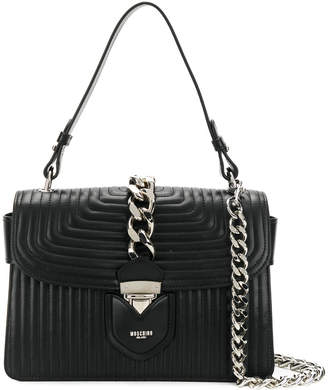 Moschino chained design satchel bag