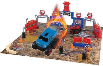 Ford Monster Truck Mayhem Playset 54-pc. Set by World Tech Toys