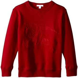 Burberry Kids - Luxury Embroidered Sweater Boy's Sweater $150 thestylecure.com