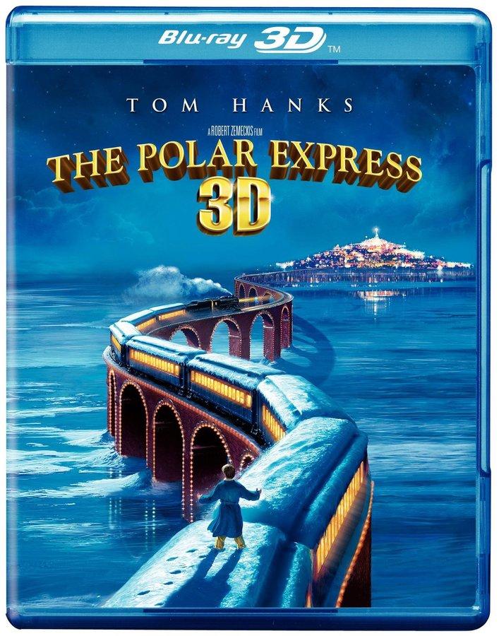 Warner Brothers The Polar Express (Single Disc Blu-Ray/Blu-Ray 3D Combo)