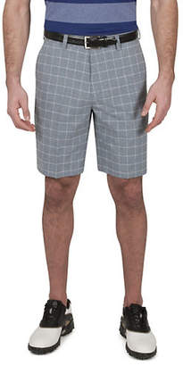 Haggar Heather Windowpane Shorts