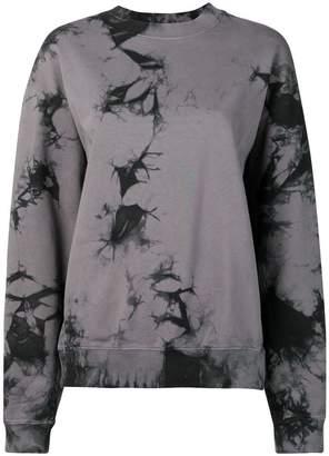 Helmut Lang Tie-Dye Logo sweatshirt