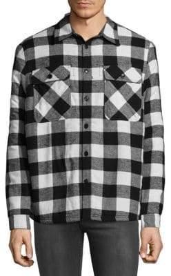 Flannel Cotton Casual Button-Down Shirt