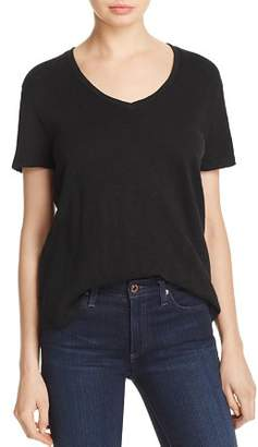 ATM Anthony Thomas Melillo Oversize V-Neck Tee
