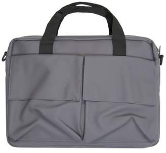 Rains New Mens Grey Pace Polyurethane Shoulder Bag Laptop Bags