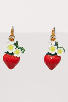 Dolce & Gabbana Strawberries earrings
