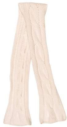 Burberry White Cashmere Women s Scarves - ShopStyle d9cf9d335b1b4