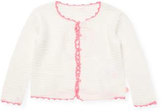 Billieblush Little Girl's Crochet Cardigan