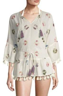 Roller Rabbit Balearic Islands Sand Dollar Tunic