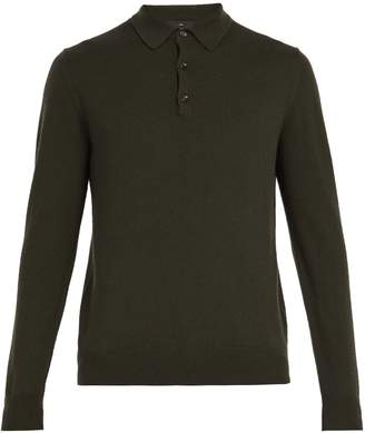 Allude Cashmere polo top