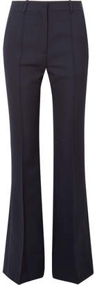 Victoria Beckham - Canvas Flared Pants - Navy