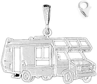 "Roger Vivier JewelsObsession Sterling Silver 26mm Recreational Vehicle 8.5"" Charm Bracelet"