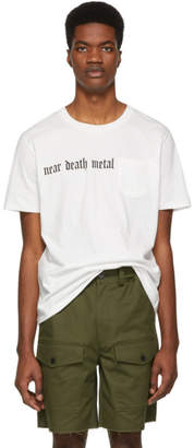 Stolen Girlfriends Club White Near Death Metal T-Shirt