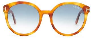Tom Ford Women's Phillipa 55mm Oversized Round Sunglasses