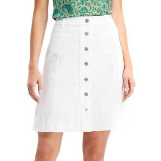 Chaps Petite Denim Skirt
