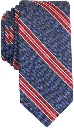 Bar III Men's Corby Stripe Slim Tie, Only at Macy's $55 thestylecure.com