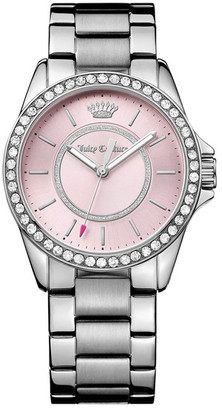 Juicy Couture Women's Laguna Crystal Bracelet Watch $225 thestylecure.com