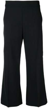 Pinko cropped wide leg trousers