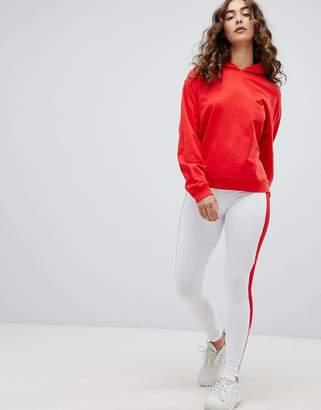 Asos Design Leggings With Double Side Stripe