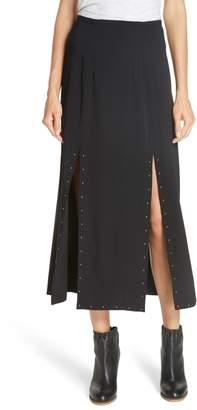 See by Chloe Slit Detail Midi Skirt