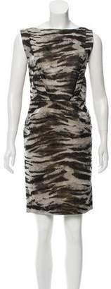 Lanvin Jacquard Mini Dress