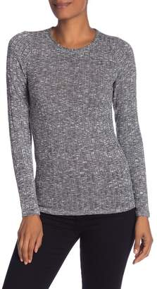 Michael Stars Long Sleeve Ribbed Knit Top