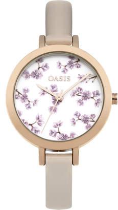Oasis Floral Printed Watch