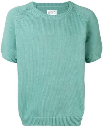 Maison Margiela crew neck knitted top