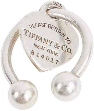 Tiffany & Co. Silver bag charm