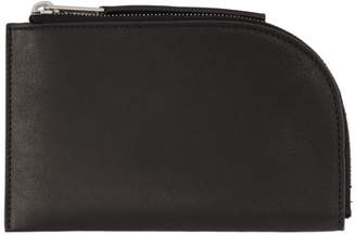 Rick Owens Black Small Wallet