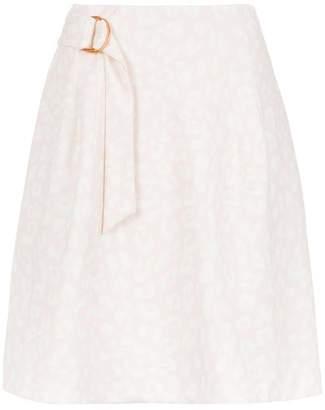 Tufi Duek printed flared skirt