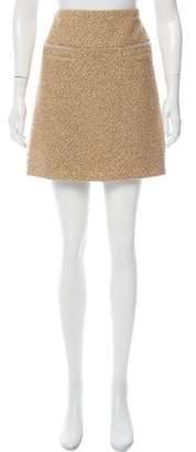 Chanel Silk-Blend Skirt