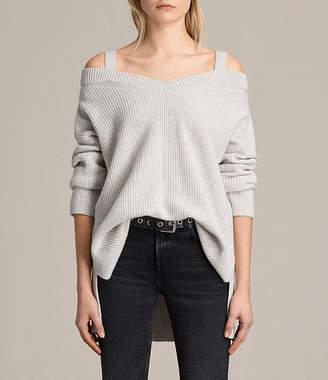 AllSaints Dasha V-Neck Sweater