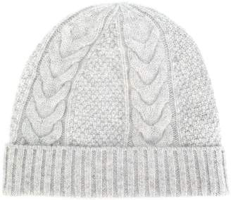 N.Peal cable knit beanie