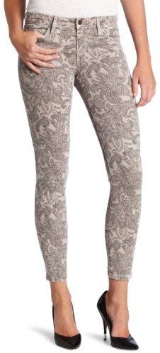 Joe's Jeans Women's Cropped Jean in Faded Musk Paisley
