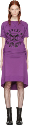 Junya Watanabe Purple Pullover Dress $485 thestylecure.com