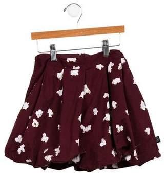 Molo Girls' Ruffled Mini Skirt