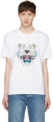 Kenzo White Tiger T-Shirt $120 thestylecure.com