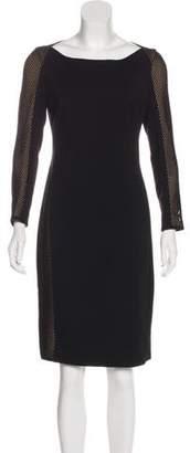 Akris Punto Mesh Knee-Length Dress