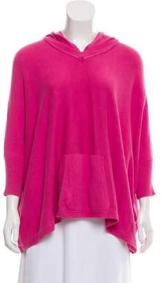 Alice + Olivia Oversize Hooded Sweater