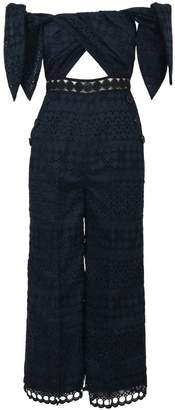 Self-Portrait Self Portrait Culottes Jumpsuit