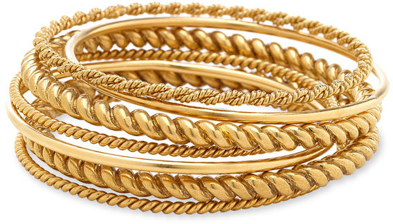 Lauren by Ralph Lauren Bangles (Set of 7)