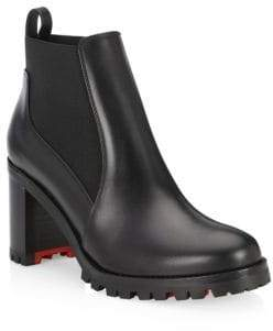 Christian Louboutin Marcharoche 70 Leather Booties