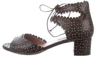 Tabitha Simmons Tallulah Laser Cut Sandals