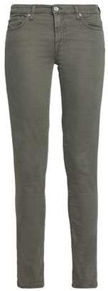 7 For All Mankind Sateen Skinny Pants