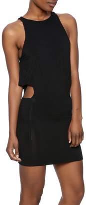 Indah Black Bow Dress